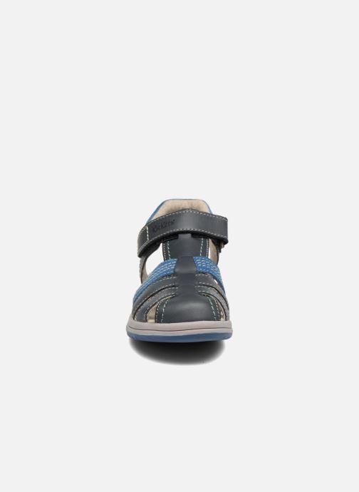 Sandalen Kickers Platinium Blauw model