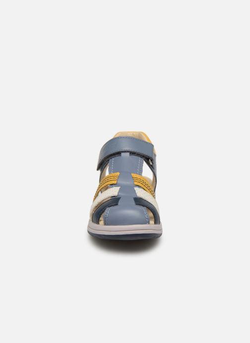 Sandales et nu-pieds Kickers Platinium Multicolore vue portées chaussures