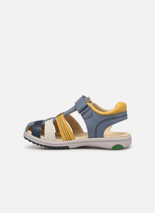 Sandales et nu-pieds Kickers Platinium Multicolore vue face