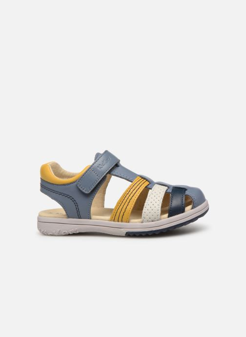 Sandales et nu-pieds Kickers Platinium Multicolore vue derrière