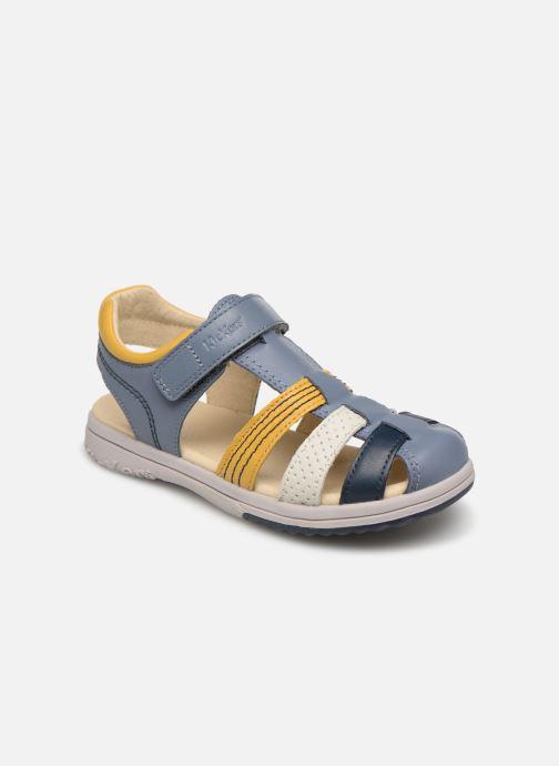 Sandales et nu-pieds Kickers Platinium Multicolore vue détail/paire