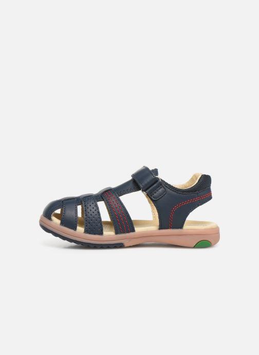 Sandali e scarpe aperte Kickers Platinium Azzurro immagine frontale