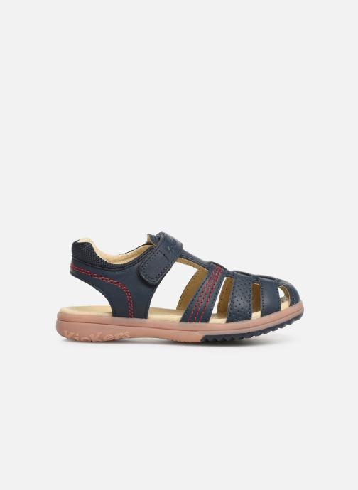Sandali e scarpe aperte Kickers Platinium Azzurro immagine posteriore