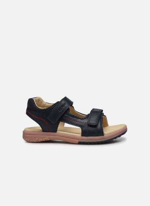 Sandali e scarpe aperte Kickers Platino Azzurro immagine posteriore