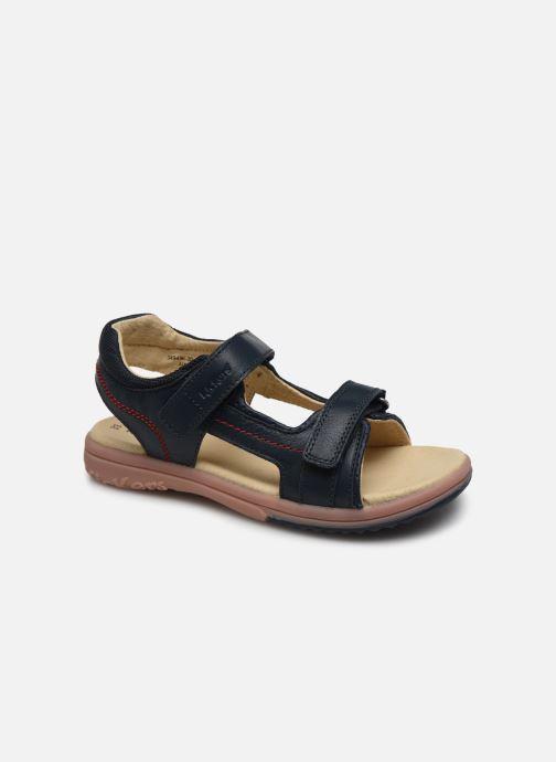 Sandaler Kickers Platino Blå detaljeret billede af skoene