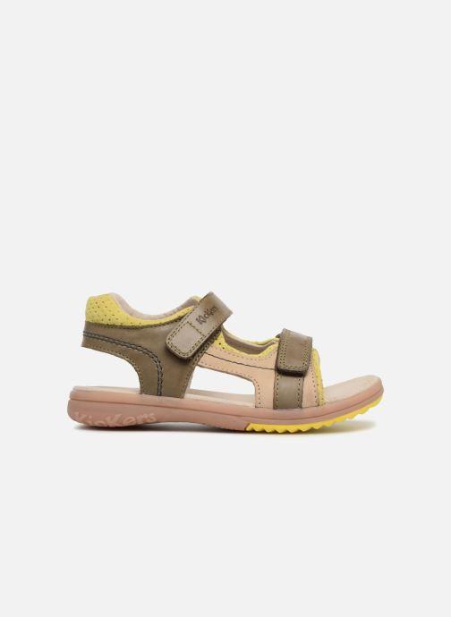 Sandales et nu-pieds Kickers Platino Vert vue derrière
