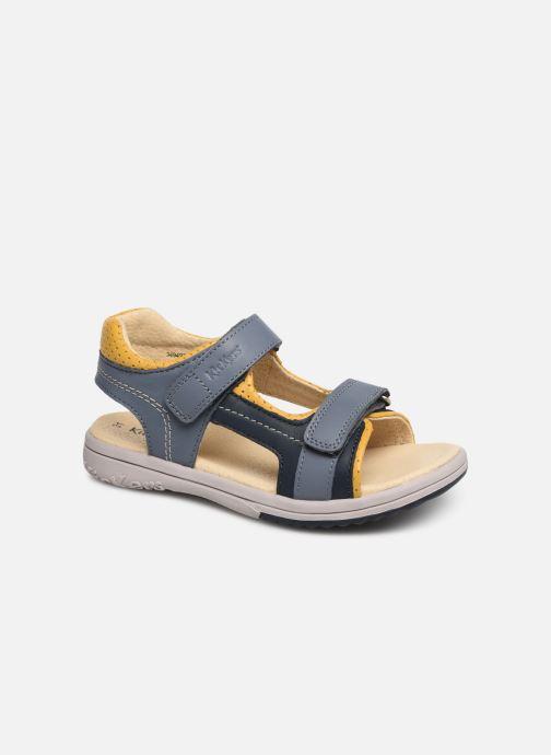 Sandalen Kickers Platino blau detaillierte ansicht/modell