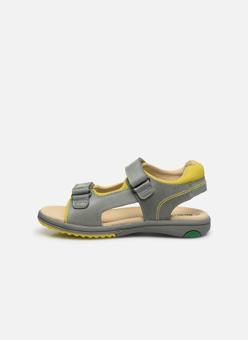 Sandales et nu-pieds Kickers Platino Vert vue face
