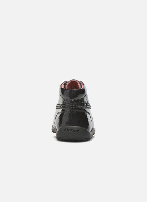 Boots en enkellaarsjes Kickers Billista Zwart rechts