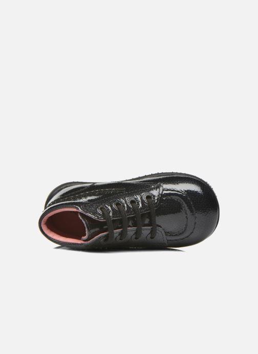 Bottines et boots Kickers Billista Noir vue gauche