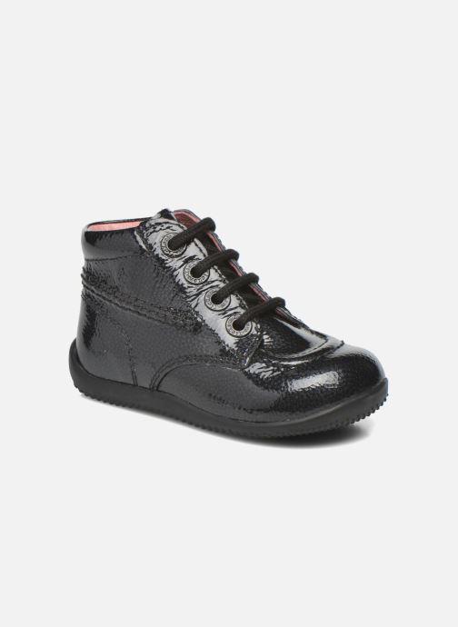 Boots en enkellaarsjes Kickers Billista Zwart detail