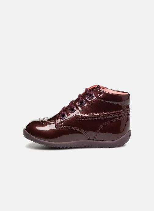 Bottines et boots Kickers Billista Bordeaux vue face