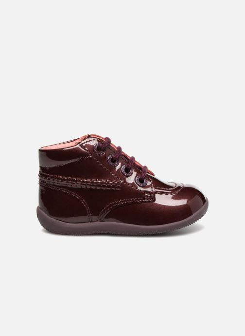 Boots en enkellaarsjes Kickers Billista Bordeaux achterkant