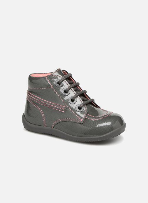Bottines et boots Kickers Billista Gris vue détail/paire