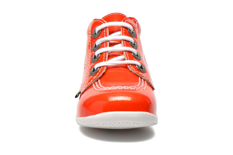 Stivaletti e tronchetti Kickers Billista Arancione modello indossato