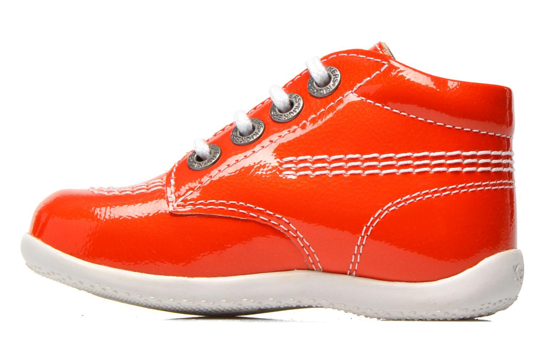 Stivaletti e tronchetti Kickers Billista Arancione immagine frontale