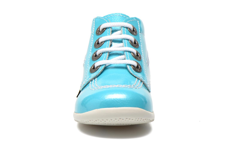 Bottines et boots Kickers Billista Bleu vue portées chaussures