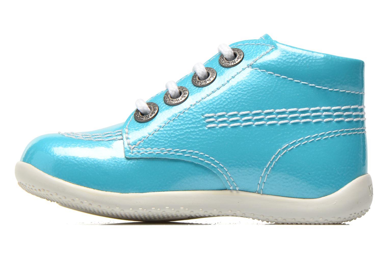 Bottines et boots Kickers Billista Bleu vue face