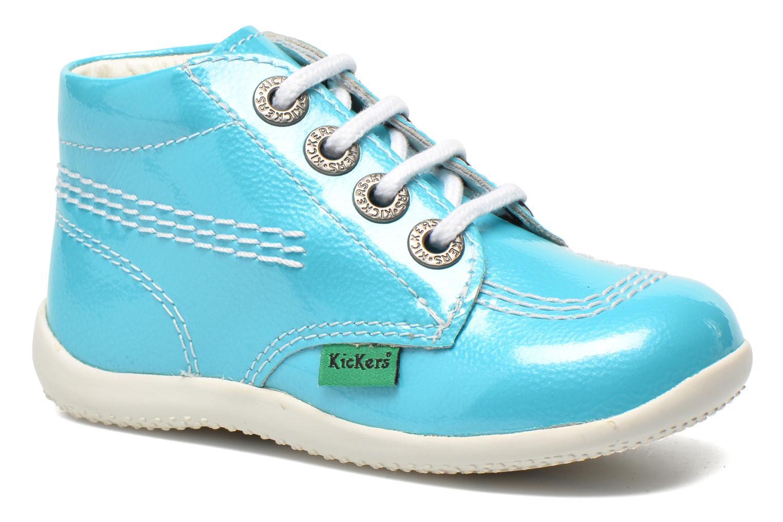 Bottines et boots Kickers Billista Bleu vue détail/paire