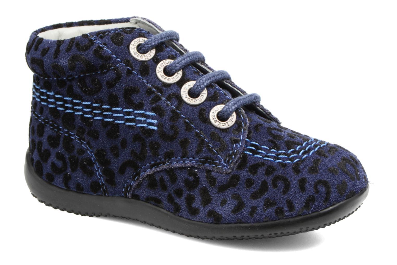 Stiefeletten & Boots Kickers Billista blau detaillierte ansicht/modell
