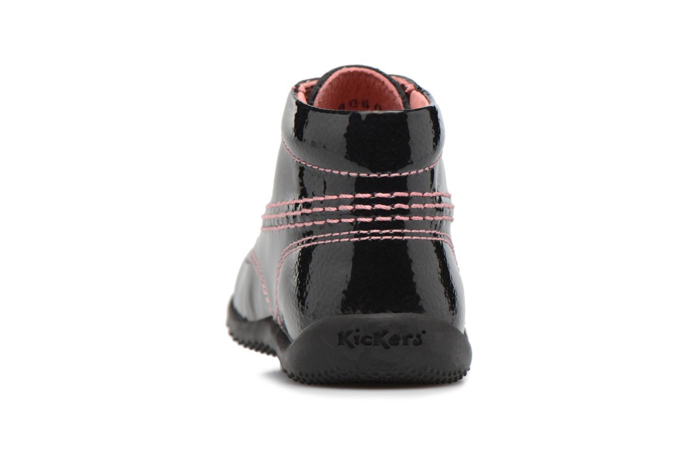 Bottines et boots Kickers Billista Noir vue droite