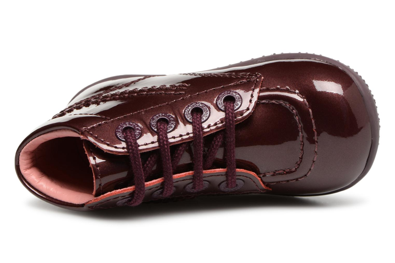 Stiefeletten & Boots Kickers Billista weinrot ansicht von links