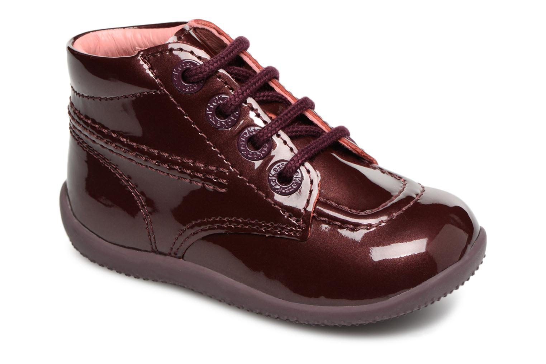 Stiefeletten & Boots Kickers Billista weinrot detaillierte ansicht/modell