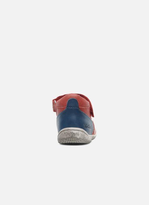 Sandalen Kickers Gusto Rood rechts