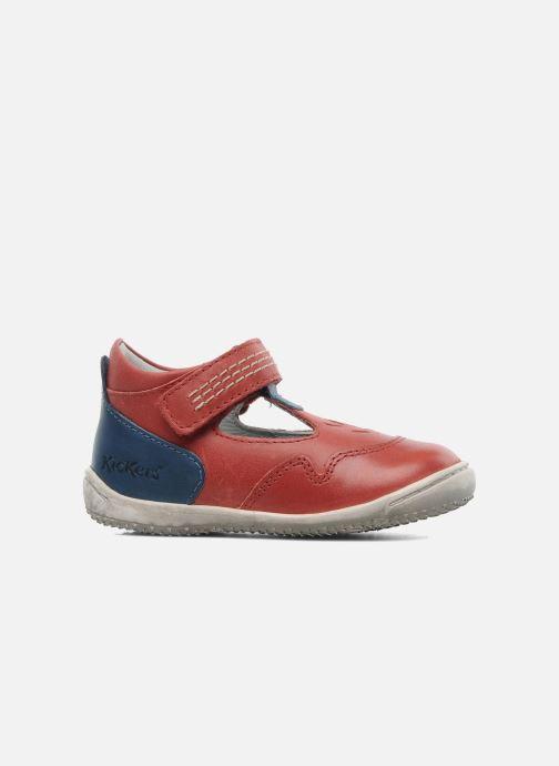 Sandalen Kickers Gusto Rood achterkant