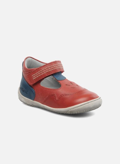 Sandalen Kickers Gusto Rood detail