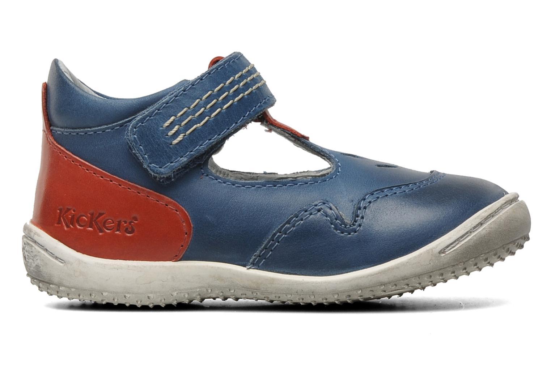 Sandales et nu-pieds Kickers Gusto Bleu vue derrière
