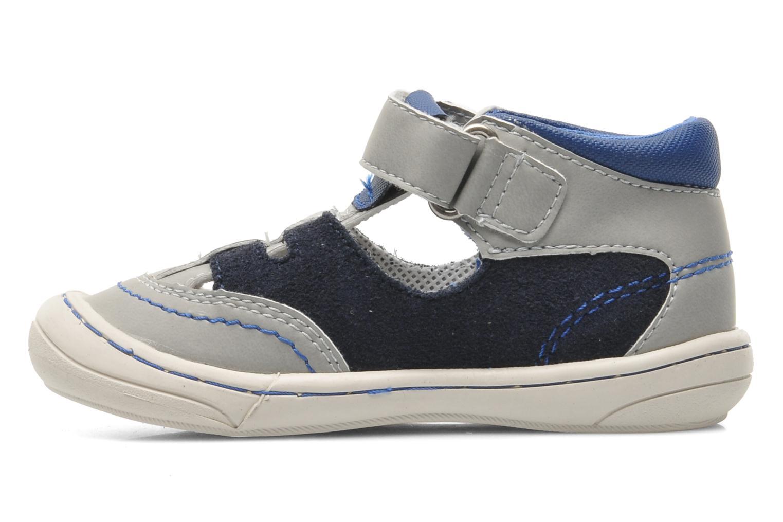 Sandales et nu-pieds Kickers Zelou Gris vue face