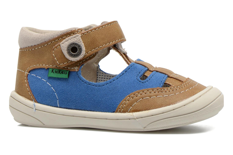 Sandalen Kickers Zelou Beige achterkant