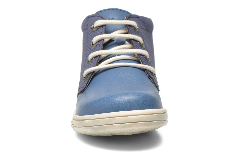 Chaussures à lacets Kickers Tradi T Bleu vue portées chaussures