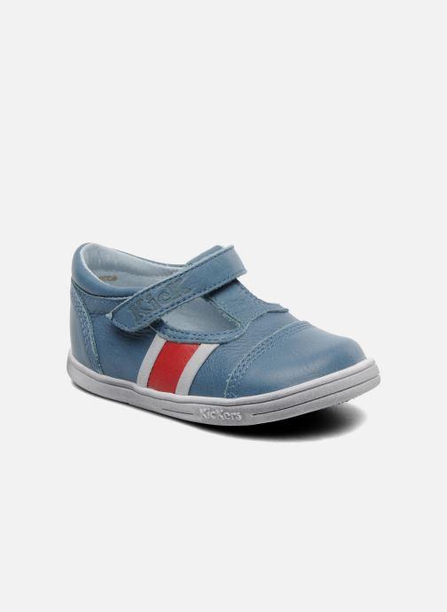 389d44e1dd2e5 Kickers Troy (Bleu) - Chaussures à scratch chez Sarenza (178944)