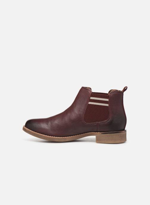 Bottines et boots S.Oliver Tania Bordeaux vue face