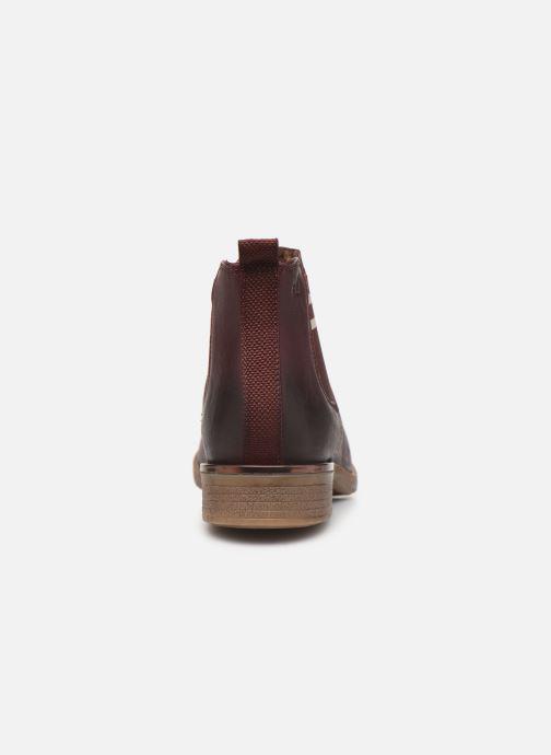 Bottines et boots S.Oliver Tania Bordeaux vue droite