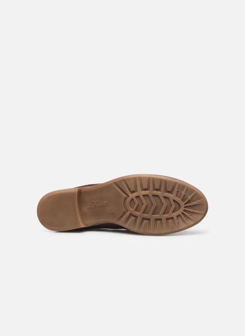 Bottines et boots S.Oliver Tania Bordeaux vue haut