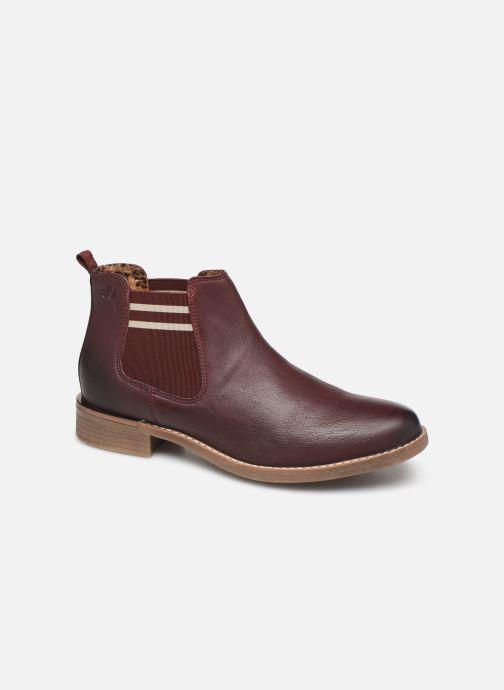 Bottines et boots S.Oliver Tania Bordeaux vue détail/paire