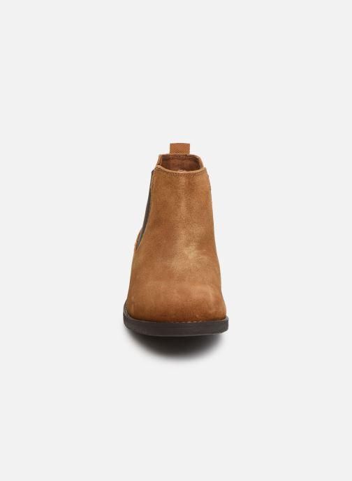 Boots en enkellaarsjes S.Oliver Tania Bruin model