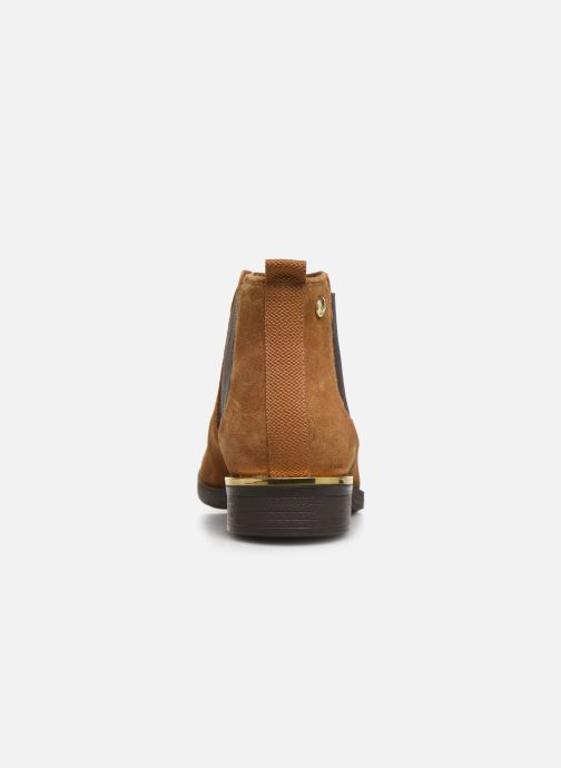 Ankle boots S.Oliver Tania Brown view from the right