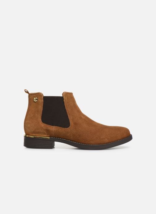 Ankle boots S.Oliver Tania Brown back view
