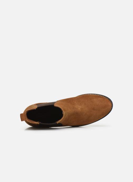 Stiefeletten & Boots S.Oliver Tania braun ansicht von links