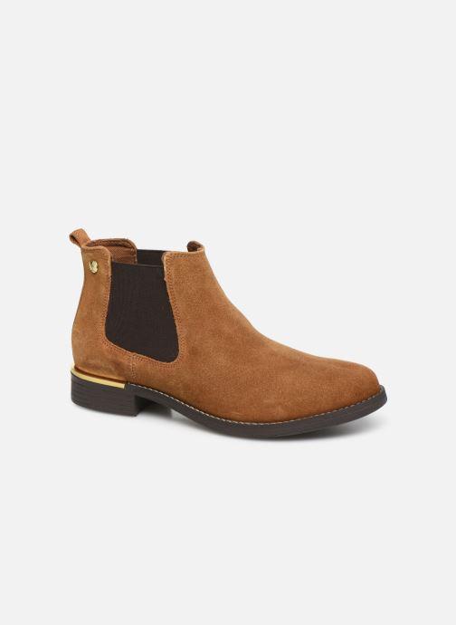 Boots en enkellaarsjes S.Oliver Tania Bruin detail