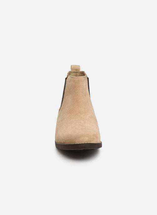 Stiefeletten & Boots S.Oliver Tania beige schuhe getragen