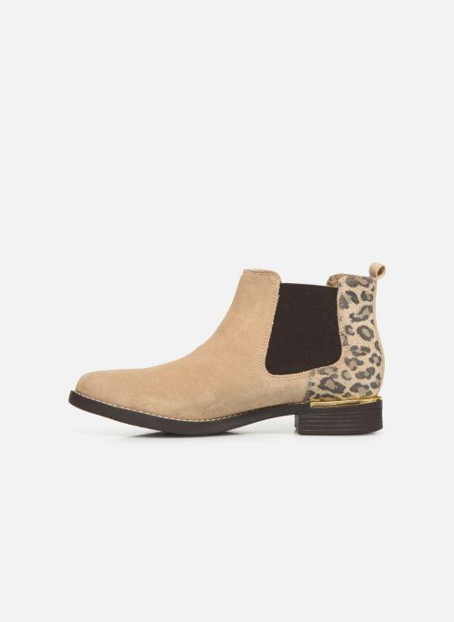 Stiefeletten & Boots S.Oliver Tania beige ansicht von vorne