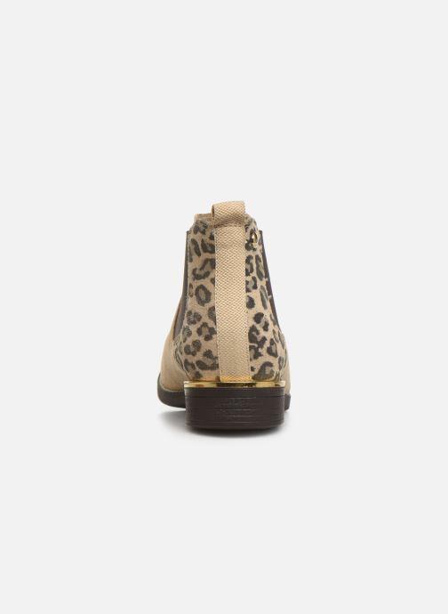 Stiefeletten & Boots S.Oliver Tania beige ansicht von rechts