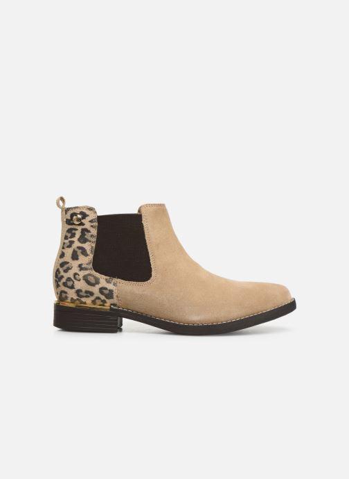Stiefeletten & Boots S.Oliver Tania beige ansicht von hinten