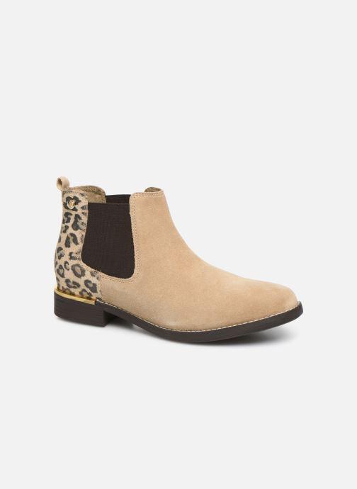 Sandaler S.Oliver Tania Beige detaljeret billede af skoene