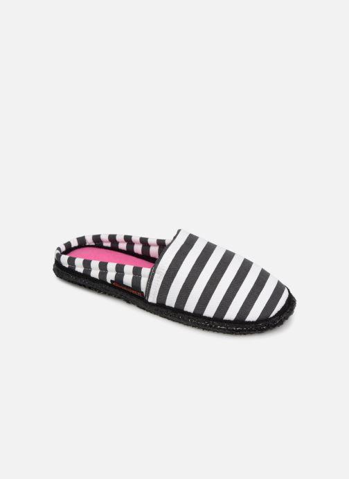 Hjemmesko Giesswein Pirmasens Sort detaljeret billede af skoene